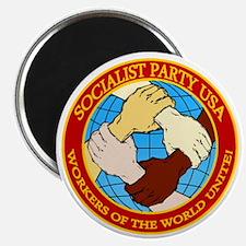 Socialist Party USA Logo Magnet