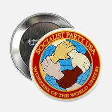 """Socialist Party USA Logo 2.25"""" Button"""