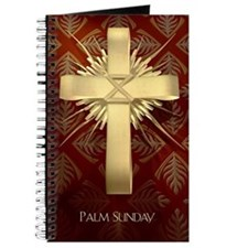 Palm Sunday Cross Journal