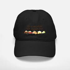 Eat Dessert First Baseball Hat