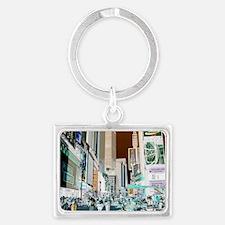 Times Square 3 Landscape Keychain