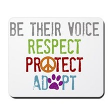 Be Their Voice Mousepad