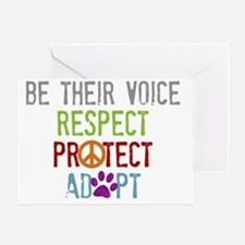 Be Their Voice Greeting Card