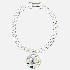 bethechange_earth_white Bracelet