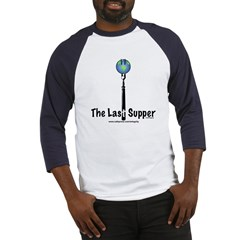 Last Supper Fork (color) Baseball Jersey