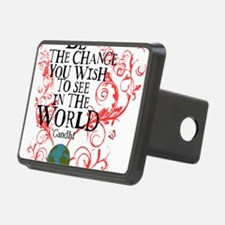 Be the Change Earth - Red Hitch Cover