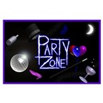 Party Zone On The Ritz Large Poster