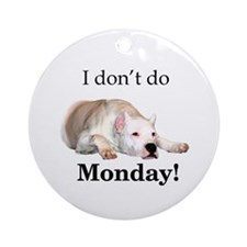 Dogo Monday Ornament (Round)