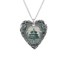 1923 China Temple of Heaven P Necklace
