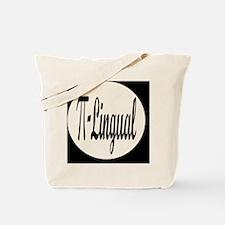 pilingualbutton Tote Bag