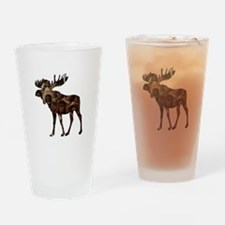 MOOSE TRIBUTE Drinking Glass