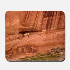 Cave dwellings Mousepad
