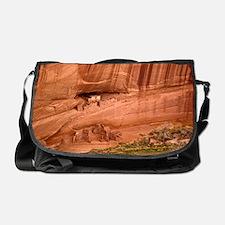 Cave dwellings Messenger Bag