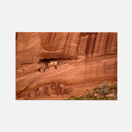 Cave dwellings Rectangle Magnet