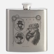 1908 Winter Novelties Flask