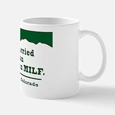Married to an Evergreen MILF Sticker Mug