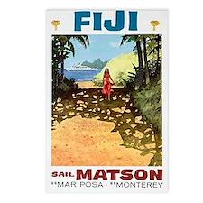 Fiji sail matson Postcards (Package of 8)