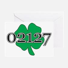 02127 Southie, Boston Greeting Card