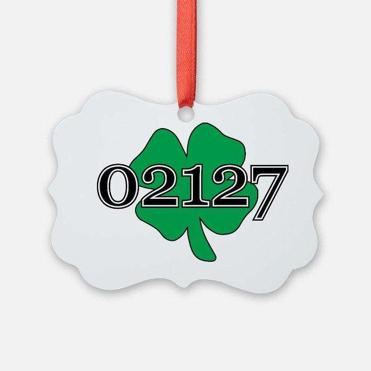 02127 Southie, Boston Ornament