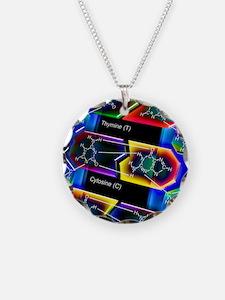 DNA molecule Necklace