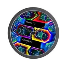 DNA molecule Wall Clock