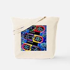 DNA molecule Tote Bag