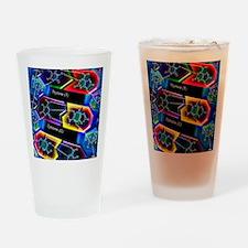 DNA molecule Drinking Glass