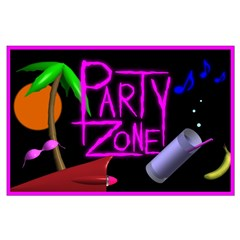 Party Zone Tropical Night Posters