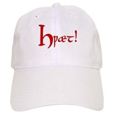 Hwaet! (Red) Baseball Cap
