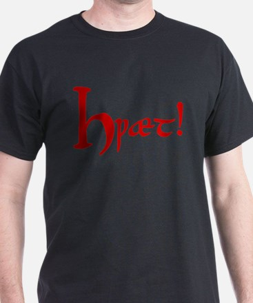 Hwaet! (Red) T-Shirt