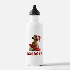 Naughty Dachshund Water Bottle