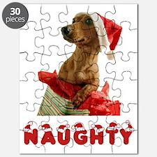 Naughty Dachshund Puzzle