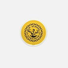 Old School Strength Vintage Mini Button