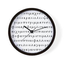 Lopado... Wall Clock