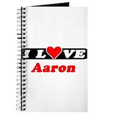 I Love Aaron Journal