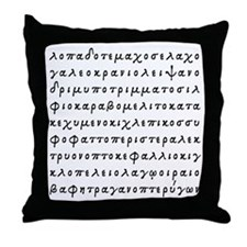 Lopado... Throw Pillow