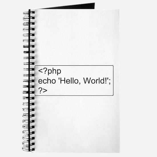 PHP Hello World! Journal