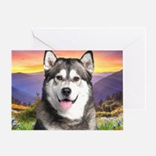 meadow(blanket) Greeting Card