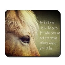 To be loved Fjord eye Mousepad