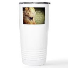 To be loved Fjord eye Travel Mug
