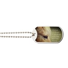 To be loved Fjord eye Dog Tags