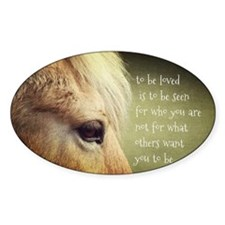 To be loved Fjord eye Decal