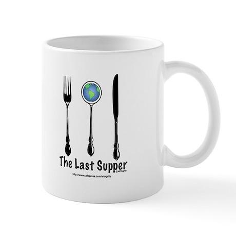 Last Supper Flatware (color) Mug