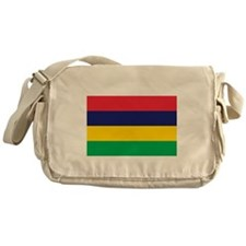 Mauritian Flag Messenger Bag