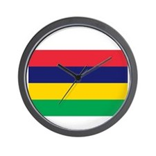 Mauritian Flag Wall Clock