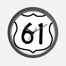 Highway 61 Wall Clock