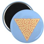 "Sunny Triangle Knot 2.25"" Magnet (10 pack)"