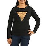 Sunny Triangle Knot Women's Long Sleeve Dark T-Shi