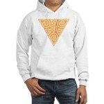 Sunny Triangle Knot Hooded Sweatshirt