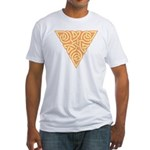 Sunny Triangle Knot Fitted T-Shirt